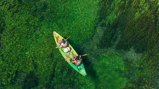 A la découverte du Canal à Fontaine-de-Vaucluse : les Monts de Vaucluse et leur paysage - Fontaine-de-Vaucluse